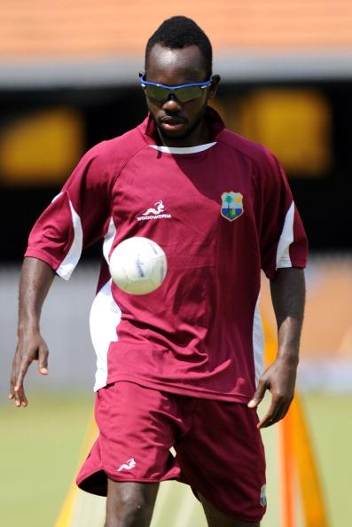 West Indies cricketer Nikita Miller bala