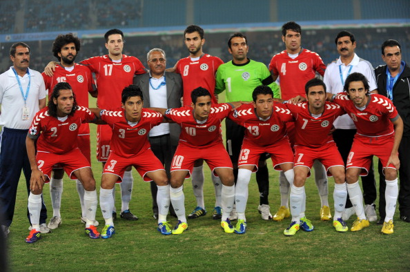 Afghanistan national football team playe