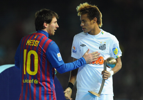 Santos v FC Barcelona - FIFA Club World Cup Final