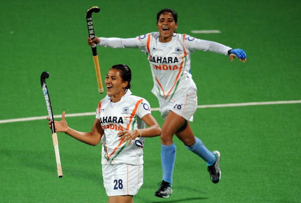 File Photo: Rani Rampal of India (L) makes her long-awaited return.