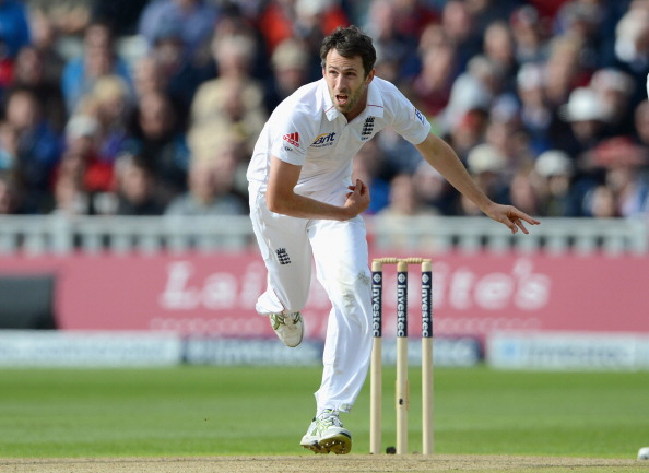Graham Onions of England bowls during day three of the third 3rd Investec Test match between England and the West Indies at Edgbaston on June 9, 2012 in Birmingham, England.  (Getty Images)