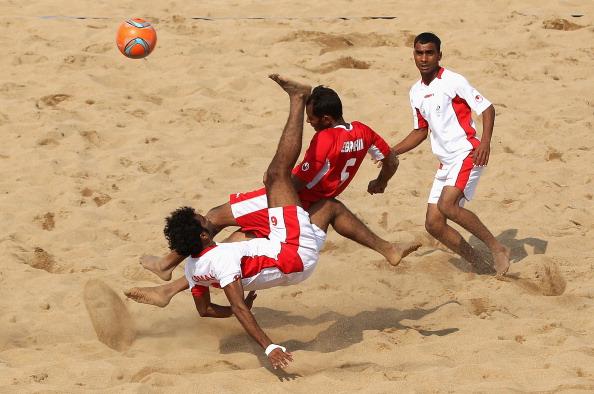 3rd Asian Beach Games: Beach Soccer Day 2