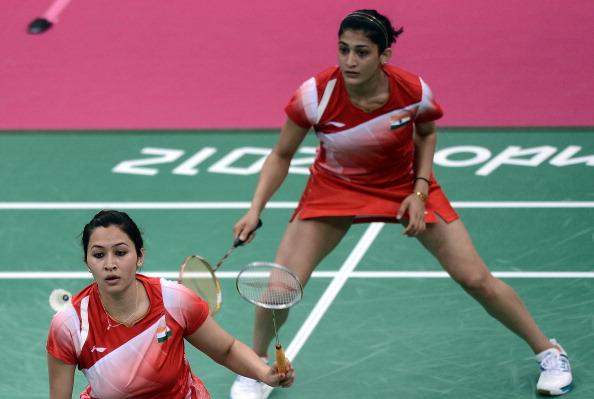 Jwala Gutta (L) and Ashwini Ponnappa
