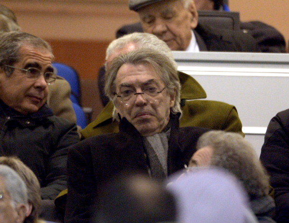 President Massimo Moratti of Inter Milan (Getty Images)