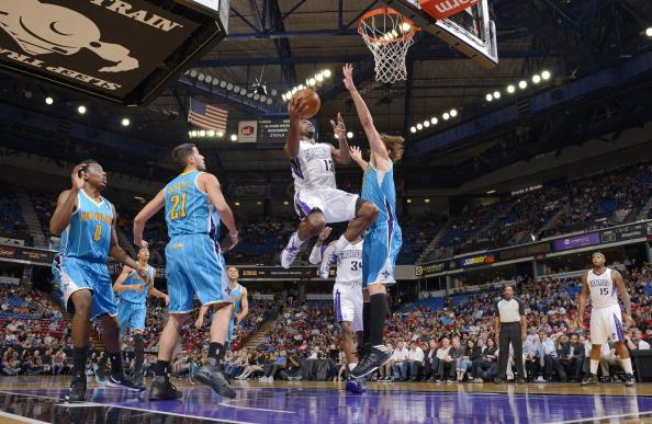 New Orleans Hornets v Sacramento Kings