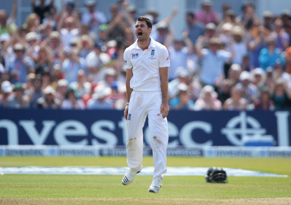 A perfect performance from James Anderson