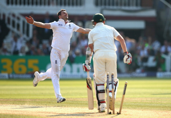 James Anderson of England has used his ability to swing the cherry the other way quite tactfully, in recent times. (Getty Images)