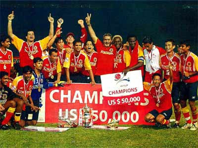 File Photo of East Bengal's famous triumph courtesy the club.