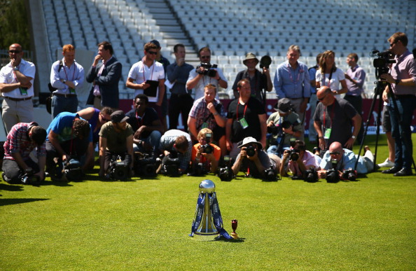 The Ashes - Captains Trophy Photo Call