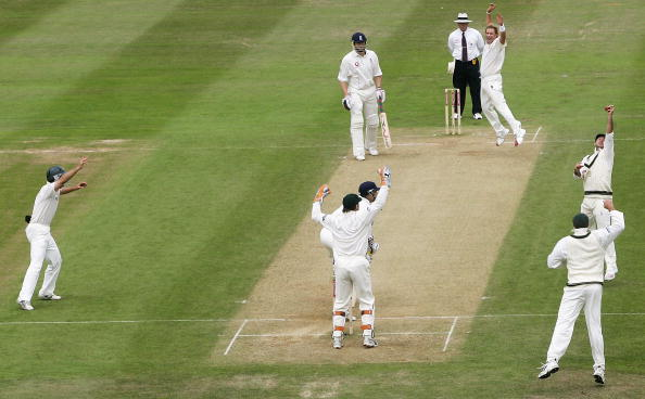 Second Test: England v Australia