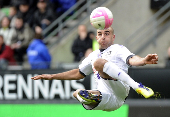 Toulouse's Tunisian defender Aymen Abden