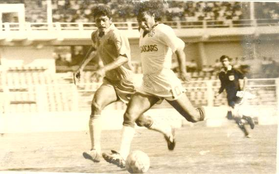 Bruno Coutinho in action during the 1997 Federation Cup (Photo Credit: Salgaocar FC)