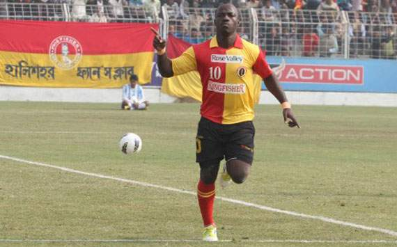 The Semen Padang coach has never seen East Bengal's top scorer Edeh Chidi (Photo Credit: AIFF Media)