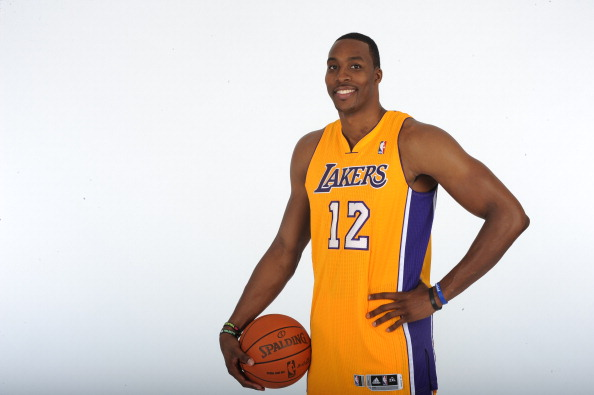 Los Angeles Lakers introduce Dwight Howard