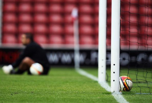 Goal-line Technology Test Event - Hampshire FA Senior Cup Final