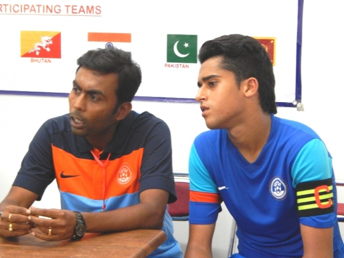 India Under-16 coach - captain