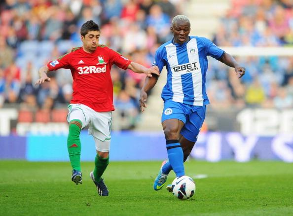 Wigan Athletic v Swansea City - Premier League