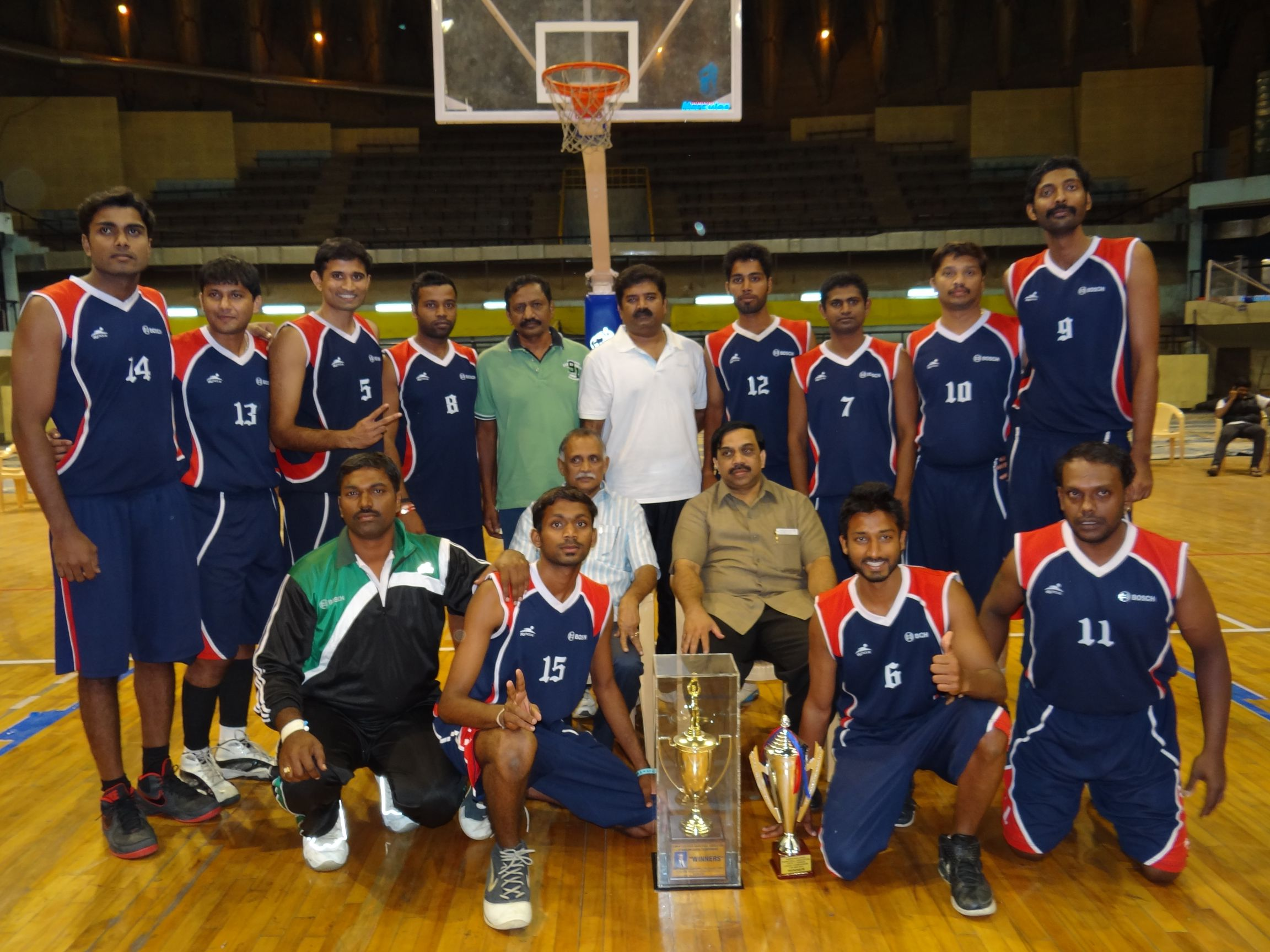 Indiranagar Basketball Club And Bosch Declared Champions