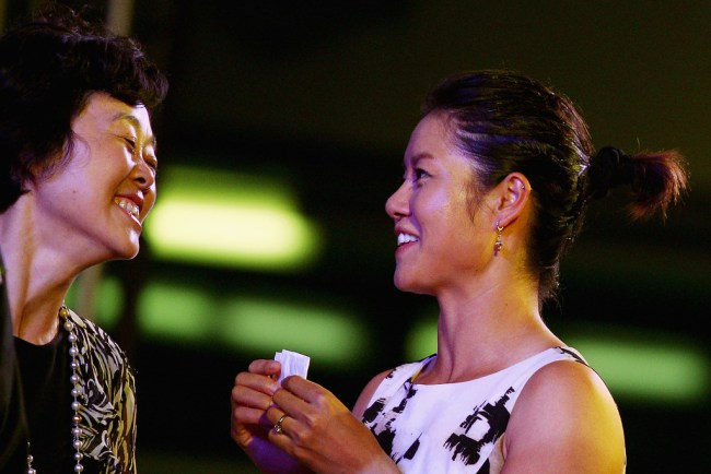 Madame Sun Jinfang and Li Na