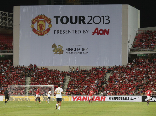 Singha All Star XI v Manchester United