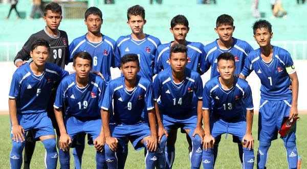 Nepal U16 team (Source: ANFA)