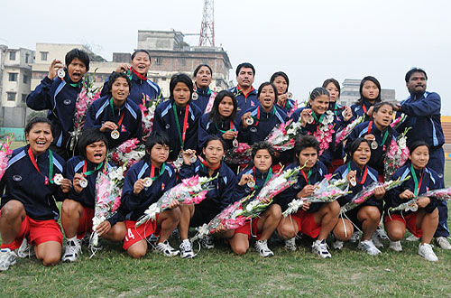 Nepal National Women's Football Team (File Photo)