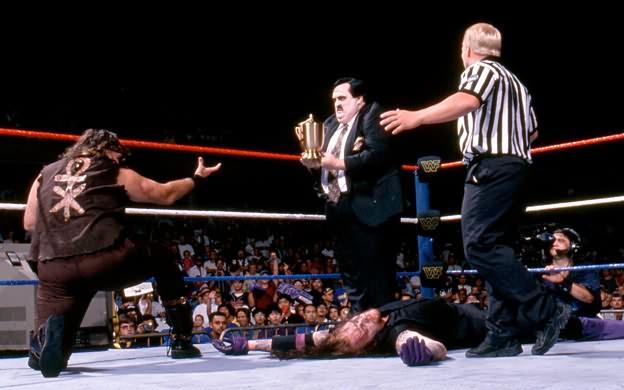 Paul Bearer turns on The Undertaker summerslam 1996