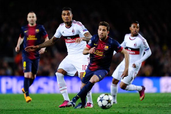 FC Barcelona v AC Milan - UEFA Champions League Round of 16