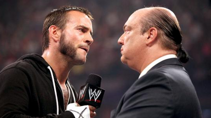 punk and heyman