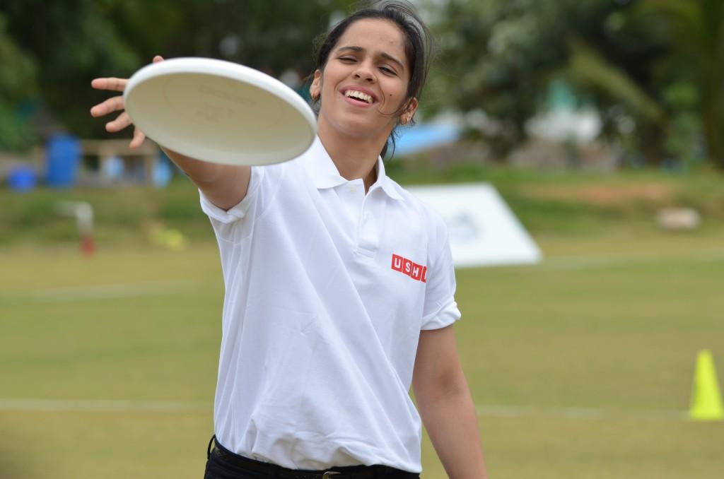 Saina Nehwal Playing @ Usha Ultimate Open 2013