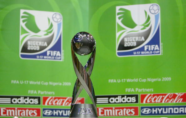 The U17 World Cup Trophy