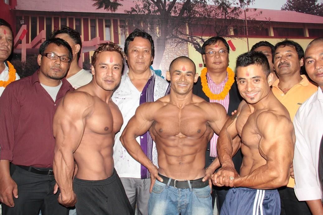 Nepali body builders leave for vietnam to participate in the asian players pose for photograph during the farewell ceremony altavistaventures Images
