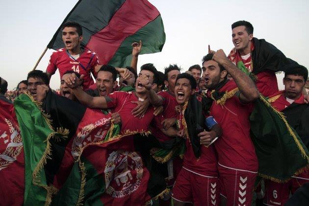 The win over Pakistan was wildly celebrated in Afghanistan
