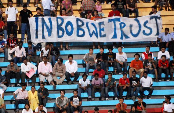 Indian football saw a revival under Bob Houghton