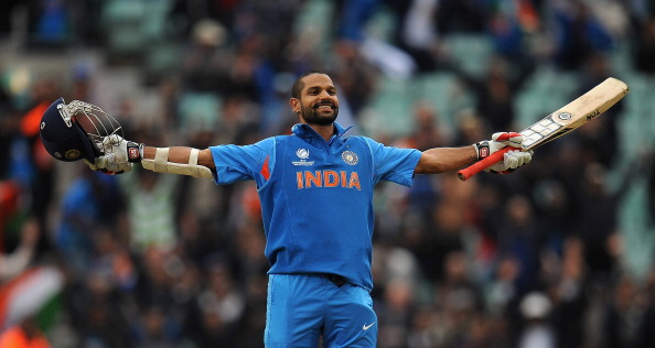 Shikhar Dhawan's 248 is the second highest individual score in List A cricket