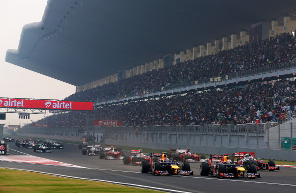 2013 INDIAN GP: RACE IN HIGH RESOLUTION IMAGES - FORMULA 1