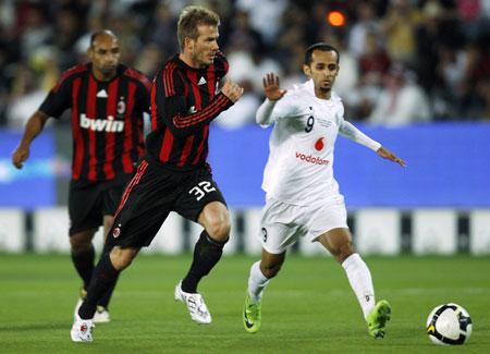 Shortest football player # 4 Jafal Rashed Al-Kuwari