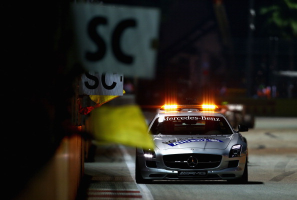 Safety Car has been a feature of every Singapore GP