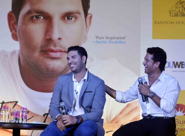 STANDING TALL: Yuvraj Singh's love for the game fuels him to keep coming back