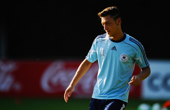 Mesut Ozil became Arsenal's club-record signing. (Getty Images)