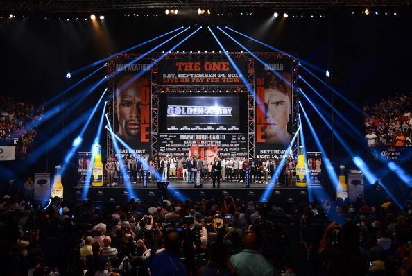 The fight between Floyd Mayweather Jr. and Canelo Alvarez at the MGM Grand Garden Arena has been dubbed 'The One'
