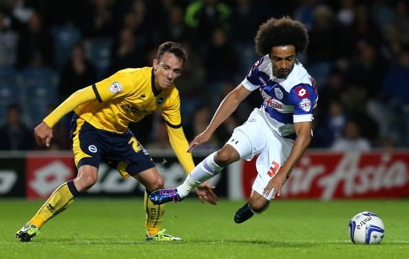 Assou-Ekotto in action for QPR