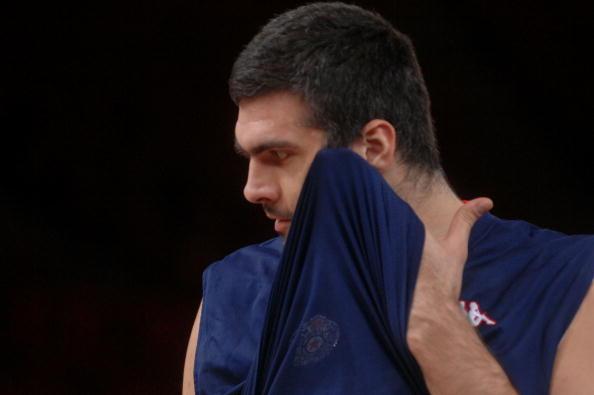 #7, at Sportskeeda's list of top 10 tallest basketball player in NBA is Slavko Vranes .