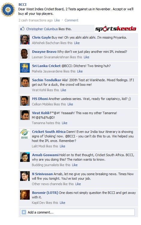 BCCI FB Wall
