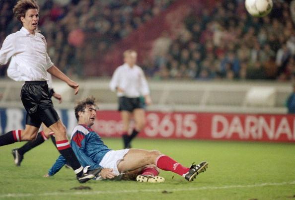 French footballer Eric Cantona