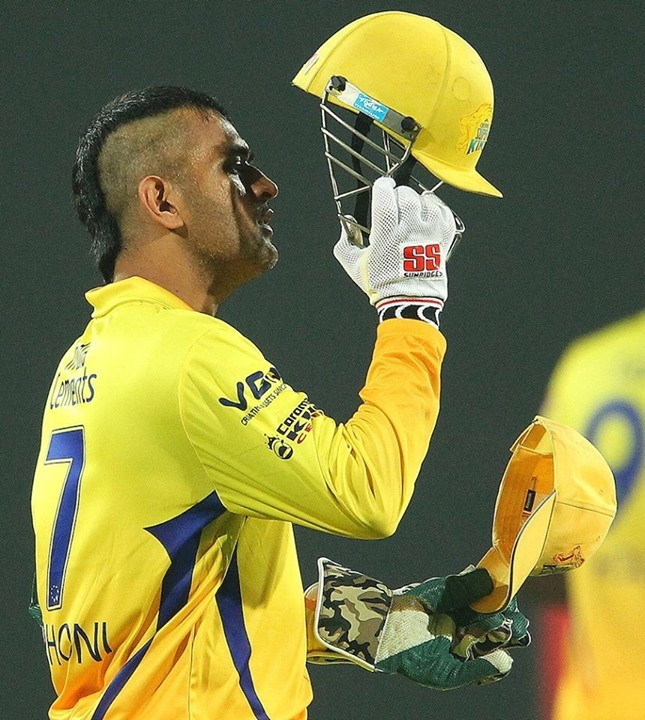 Dhoni S New Hairstyle A Rage Among Fans