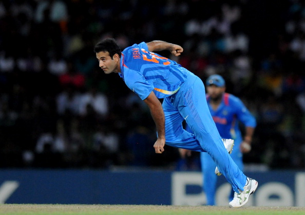 Irfan Pathan out of Challengers Trophy