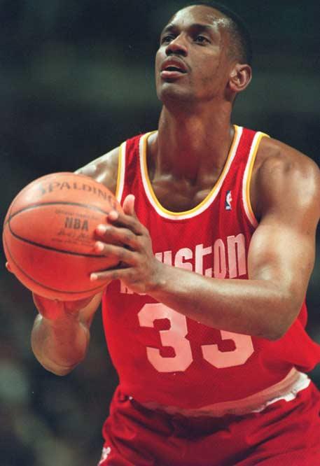 Otis Thorpe was traded six times
