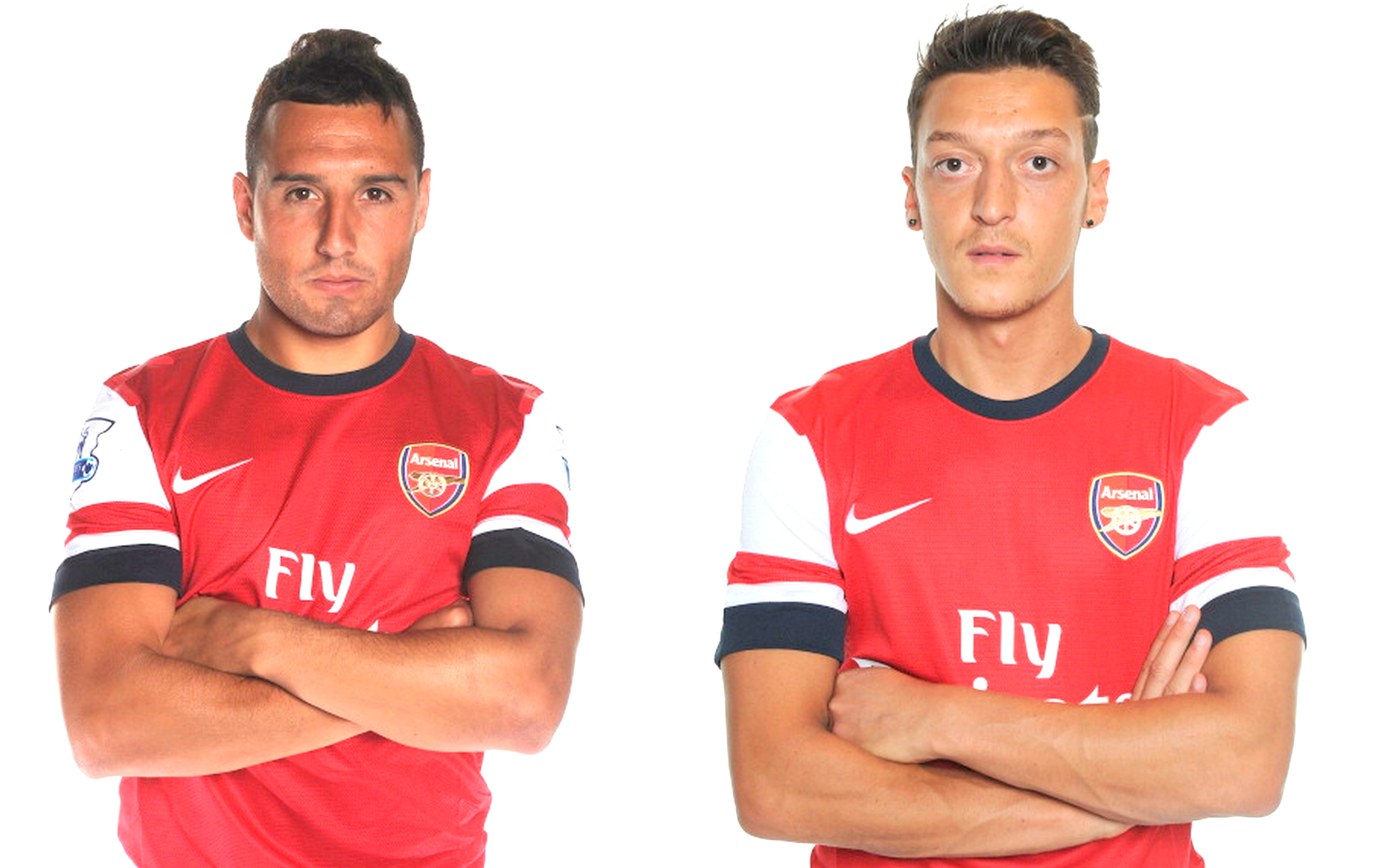 Santi Cazorla and Mesut Ozil Arsenal s brothers in arms