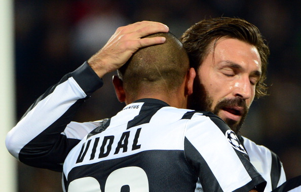 Pirlo and Vidal: The vital cogs in Juventus midfield